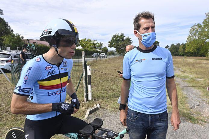 Après avoir vu le Tour échapper à son coéquipier Primoz Roglic, Wout Van Aert est ravi de passer à autre chose et se sent bien à la veille de disputer le contre-la-montre des Championnats du monde.