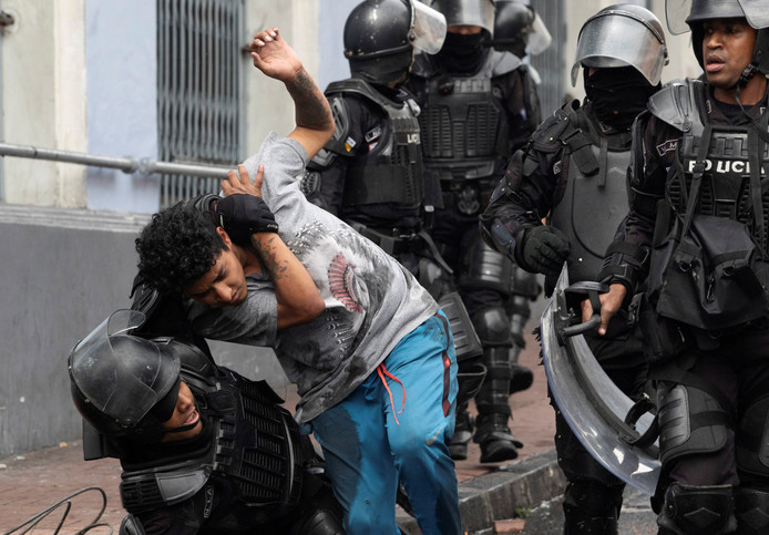 De politie verrichtte donderdag 19 arrestaties.