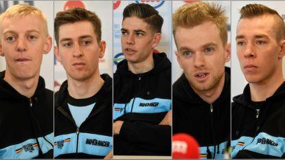 """Drie prangende vragen aan de zeven WK-gangers in Dübendorf: """"We moeten hopen dat Mathieu het verprutst"""""""