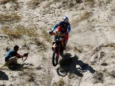 Etappezege Walkner, leider Van Beveren crasht