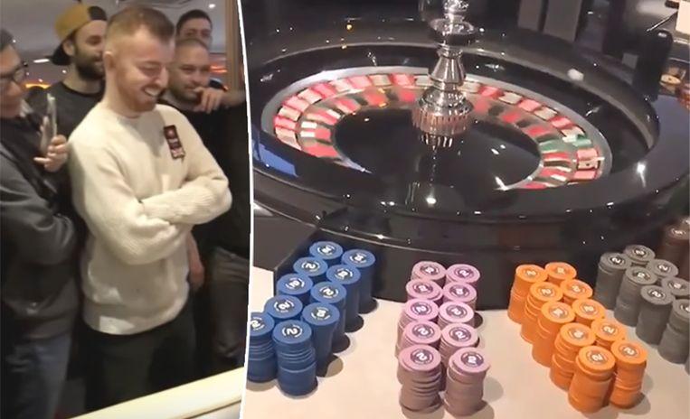 Roulette Tafel Te Koop.Video Gokker Zet 48 000 Euro Op Zwart Aan Roulettetafel Het