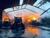 Un gros incendie ravage une ferme agricole pédagogique à Buzet