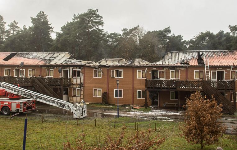 Acht appartementen raakten volledig vernield.