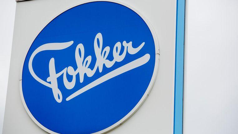 Vlaggen voor het hoofdkantoor van Fokker. Beeld anp