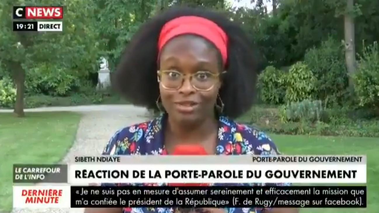 Sibeth Ndiaye, interrogée par CNEWS