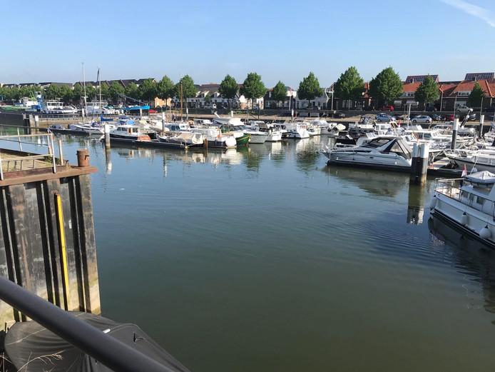 De jachthaven van Sliedrecht maakt onderdeel uit van de Obstacle Run in Sliedrecht.
