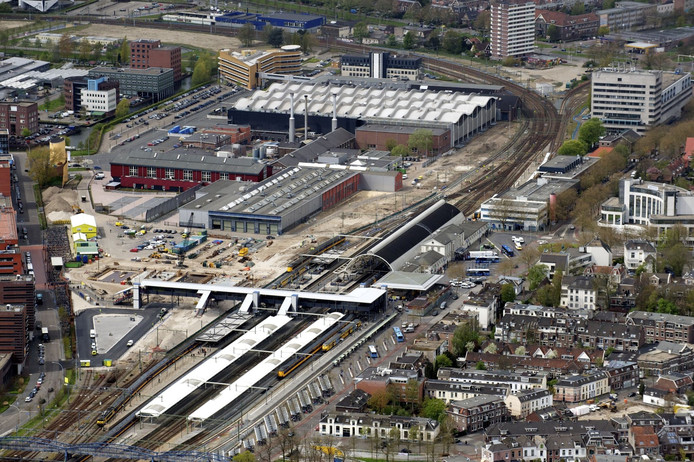 station Zwolle. Foto Bram van de Biezen