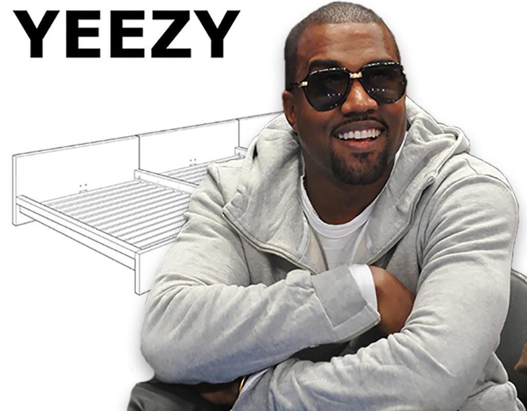 Ikea Reageert Op Kanyes Sollicitatie Met Bed Yeezy