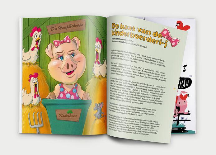 Het verhaal van Lisa Westerveld met illustraties van Mark Muller.