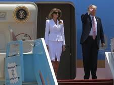 Trump komt aan in Israël voor staatsbezoek
