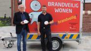 Brandweerpost Sint-Lievens-Houtem sensibiliseert op avondmarkt