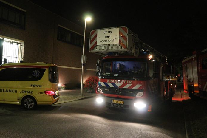 In Van der Hoeven Kliniek aan de Willem Dreeslaan in Utrecht heeft vannacht een brandje gewoed.