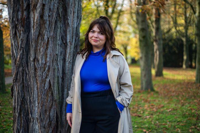 Jenta Van Berlaer (26) uit Berchem startte het online platform 'Ikvoelmerotkot' voor mensen die het mentaal moeilijk hebben tijdens deze crisis.
