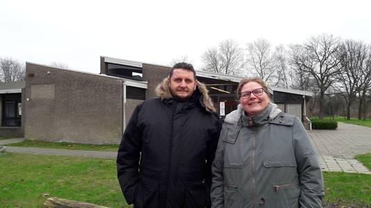 Eric van den Broek en Karina Zegers uit de Schijndelse Bloemenwijk maakten zich eerder in de wijkraad sterk voor een nieuw wijkgebouw in hun wijk.