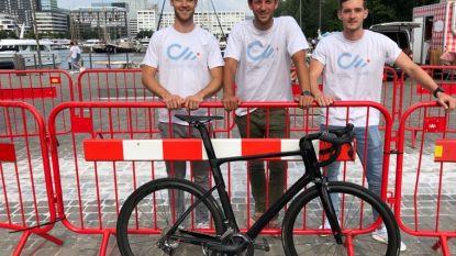 Drie vrienden organiseren fietsevenementen onder de naam 'Count Me In'
