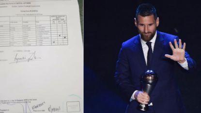 Gesjoemel met FIFA-awards? Stemmers geschokt wanneer blijkt dat uitslag niet met keuze op stembulletin strookt
