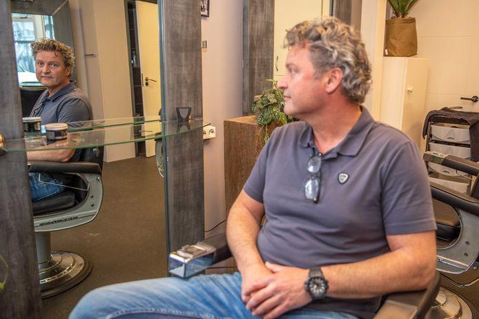 Jeroen van Gastel is eigenaar van kapsalon Charlie Hair in Goes.