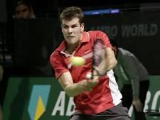 Federer in Ahoy net misgelopen