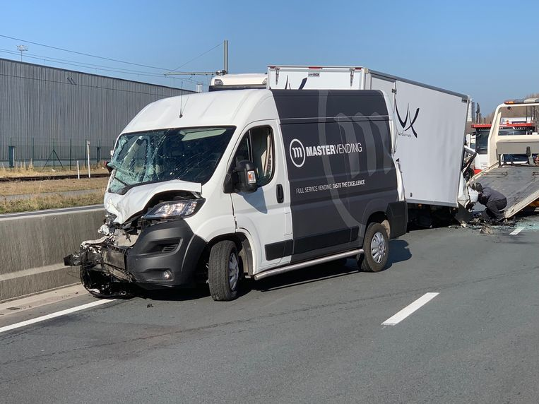 Het ongeval gebeurde in de Alfred Ronsestraat