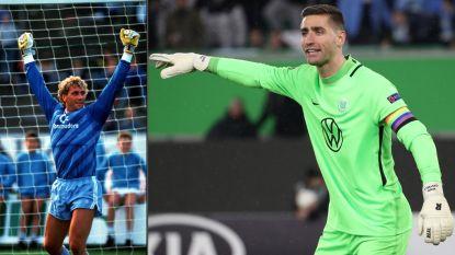 """Casteels steekt Pfaff vandaag voorbij met 157ste match in Bundesliga: """"Jean-Marie belde me, een hele eer"""""""