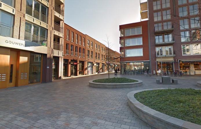 Het Gouweplein in Waddinxveen