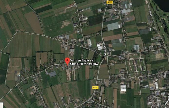 De vestigingsplaats van de Biggelaar groep in Velddriel.