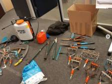 Tuingereedschap in auto bij volkstuin Eindhoven mogelijk gestolen in diverse plaatsen in Brabant en Limburg