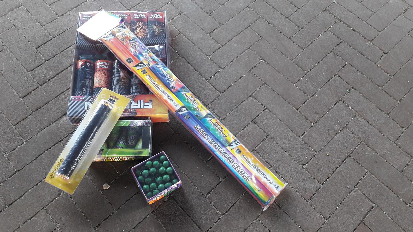 Categeorie F1-vuurwerk mag het hele jaar door verkocht en afgestoken worden.