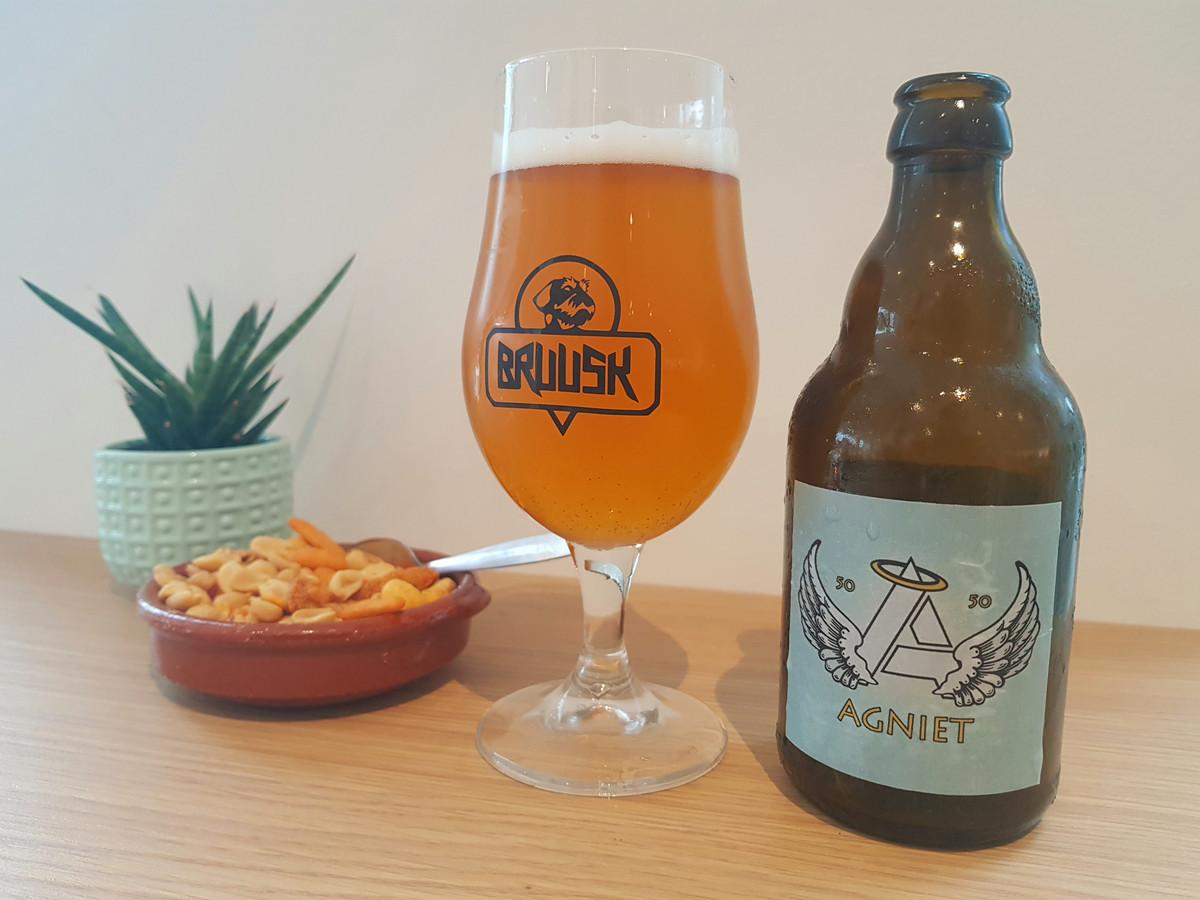Bruusk brouwde onlangs nog een eigen speciaalbier voor de Tielse schouwburg: De Agniet.