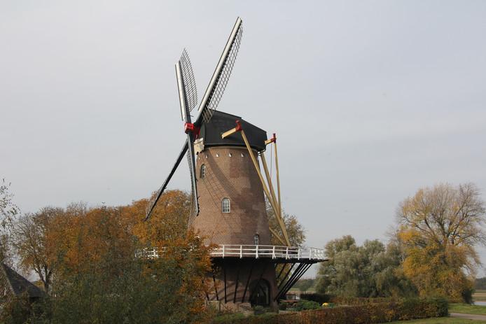 De gerestaureerde molen Stella Polaris.