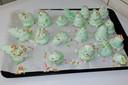 De mislukte merengue-kerstboompjes van blogster Linda van Aken