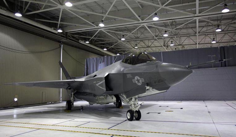 Een F-35 Lightning II Joint Strike Fighter. Beeld reuters