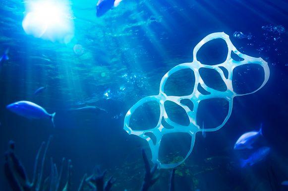 Jaarlijks belandt naar schatting acht miljoen ton plastic in onze oceanen.