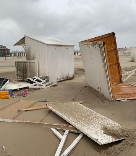 La tempête Odette fait des dégâts à la Côte