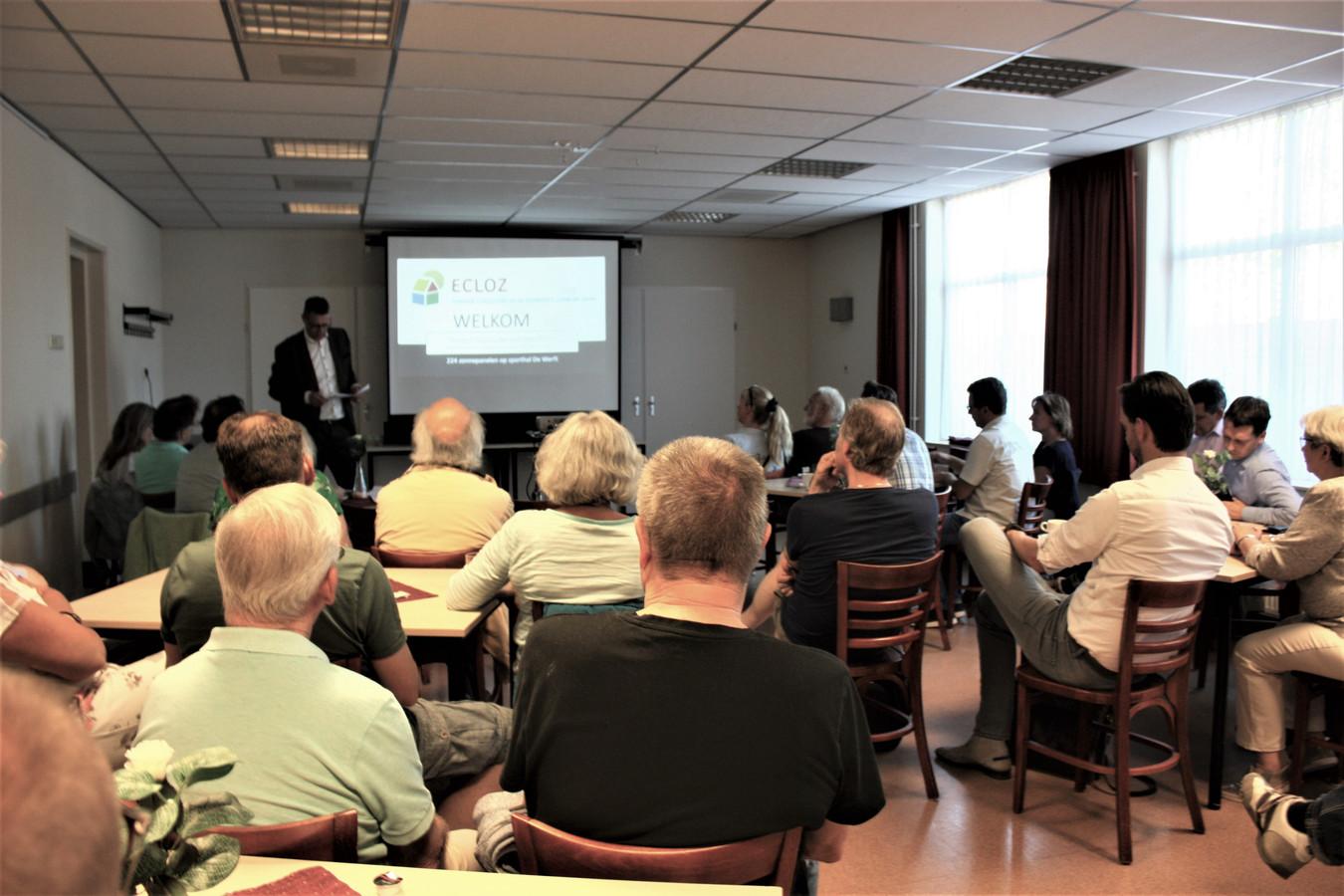 Presentatie van het energieproject Werftzon in de Gildenbond.