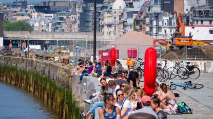 Antwerpenaren massaal uit hun kot op zomerse zaterdag én massaal op de bon: hoogste aantal boetes (153) in drie weken