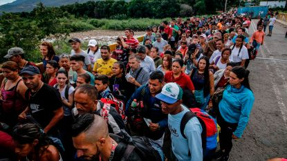 Al meer dan 4 miljoen Venezolanen gevlucht