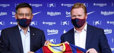 Barça-voorzitter Bartomeu wacht motie van wantrouwen niet af en stapt op