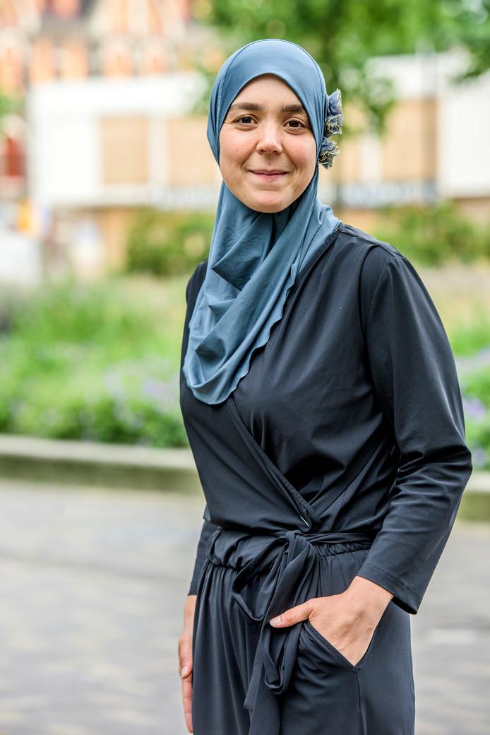 Wethouder Esmah Lahlah, bestuurlijk verantwoordelijk voor het nieuwe reïntegratiebeleid.