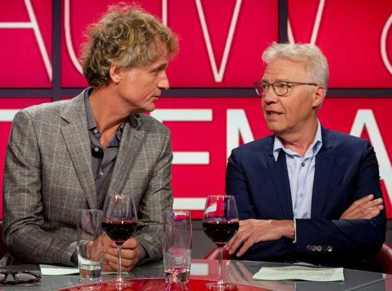 Pauw & Witteman stoppen ermee. Tijd voor Knevel & van den Brink op het 'hoofdpodium'? Beeld anp