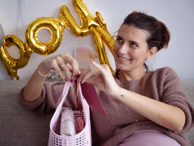 """COLUMN. Lara (34) is zwanger van haar derde kind en ongeneeslijk ziek: """"De verrassingsbabyshower die mijn vriendinnen organiseerden deed me zo goed"""""""
