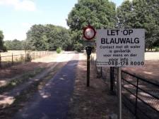 Uitbater Geffense Plas claimt schade op de gemeente na onterechte plaatsing borden blauwalg