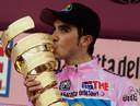 Contador als winnaar van de Giro.