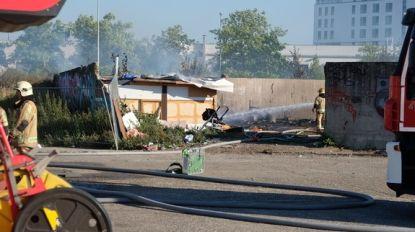 Kamp van woonwagenbewoners in Anderlecht ontruimd