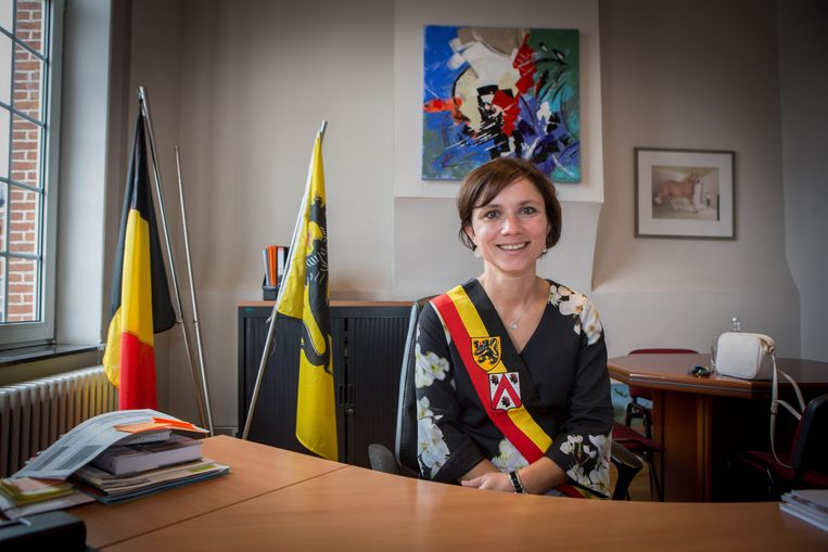 Burgemeester Irina De Knop (Open Vld)