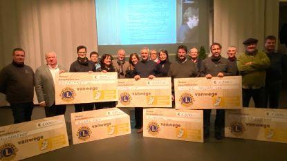 """Zoerselse Lionsclub schenkt meer dan 7.000 euro aan lokale goede doelen: """"Winst betekent uitdelen"""""""