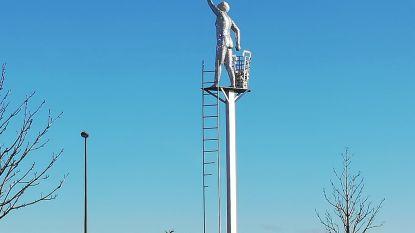Waar zijn de onderste treden van de ladder van De Geluksplukker naartoe?