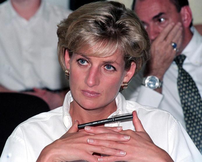 Diana in 1997.