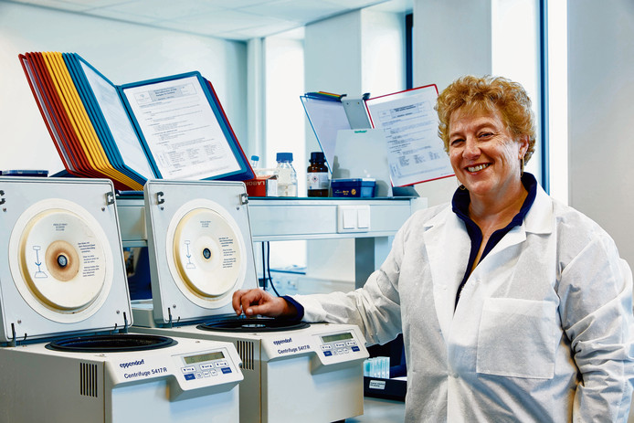 Moleculair bioloog Laura van 't Veer is een van de ontwikkelaars van de MammaPrint genexpressietest.