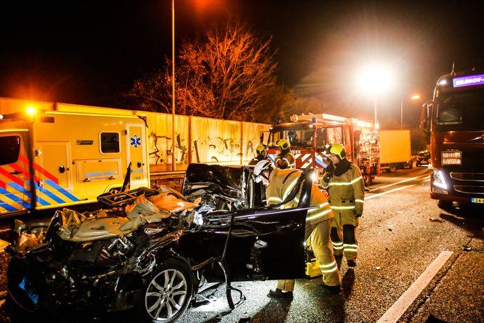 Ongeval op de N3 bij Sterrenburg.